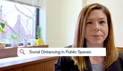 STAY STRONG: Social Distancing in Public Spaces