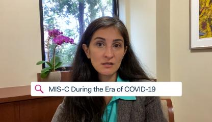 Dr. Nadine Choueiter, Montefiore's Director of Noninvasive Imaging and Pediatric Cardiology, talks about MIS-C during the era of COVID-19