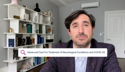 Dr. David Altschul, Montefiore's Chief of Division of Cerebrovascular Neurosurgery, talks about treatment for neurological conditions and COVID-19