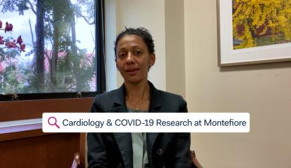Dr. Sandhya Murthy, Attending Cardiologist in Advanced Heart Failure and Transplant at Montefiore, describes the research Montefiore is conducting on the impact of COVID-19 on the heart.