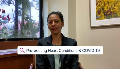 Dr. Sandhya Murthy, Attending Cardiologist in Advanced Heart Failure and Transplant at Montefiore explains what pre-existing health conditions can lead to a higher risk for COVID-19 complications.